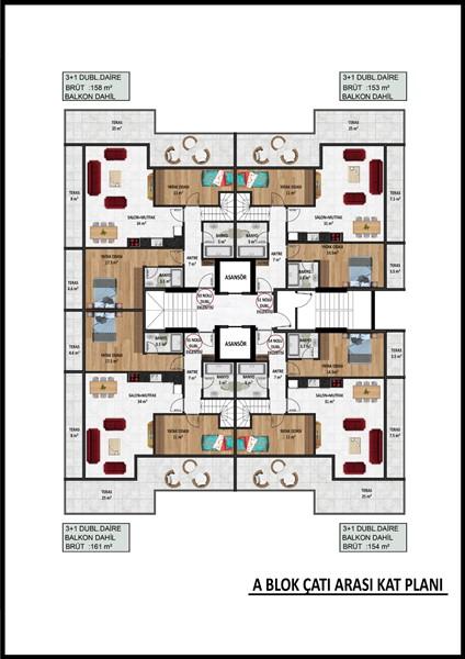 Новые квартиры в центре Аланьи по ценам застройщика - Фото 29
