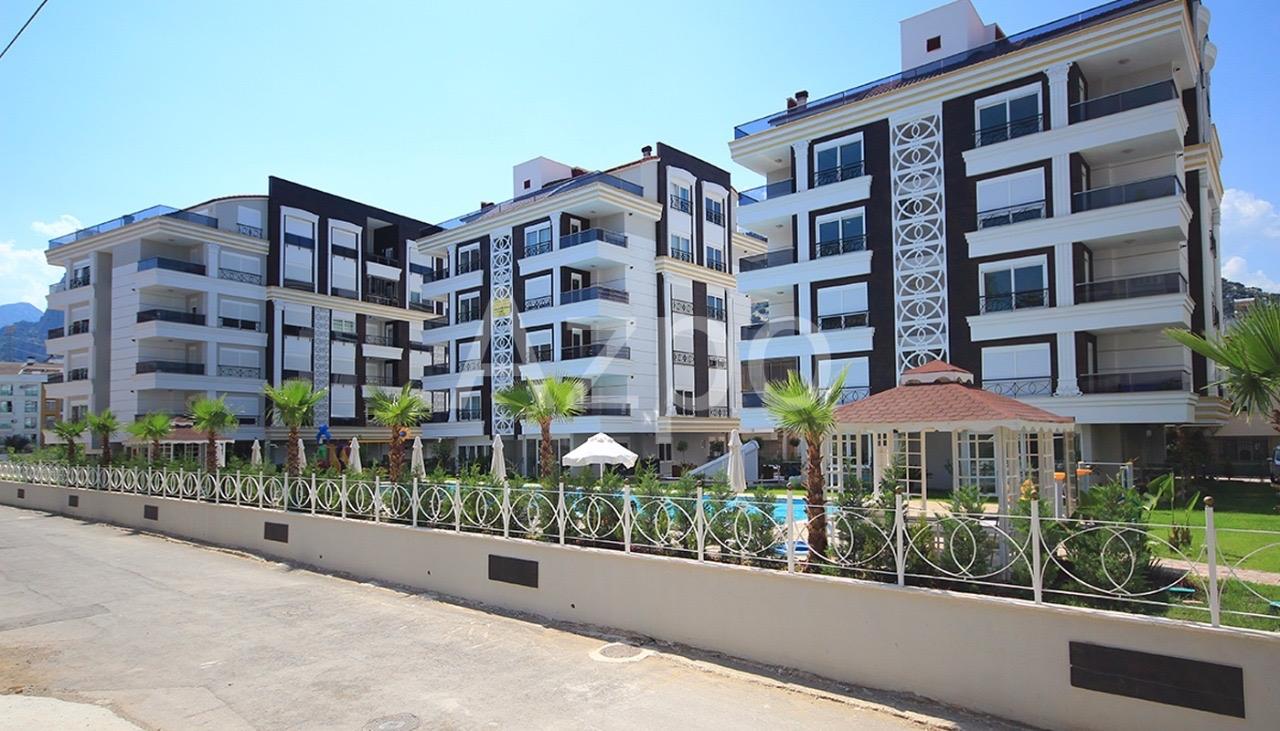 Квартиры 1+1 и 2+1 в комплексе в районе Хурма Коньяалты Анталия - Фото 17