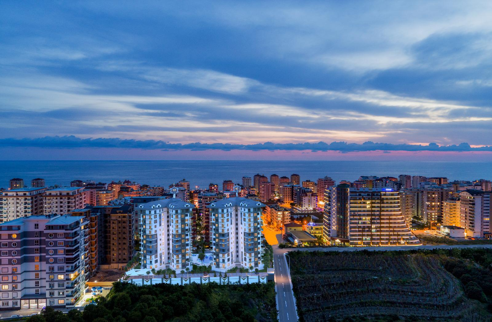 Квартиры и пентхаусы в комплексе с богатой инфраструктурой район Махмутлар - Фото 14