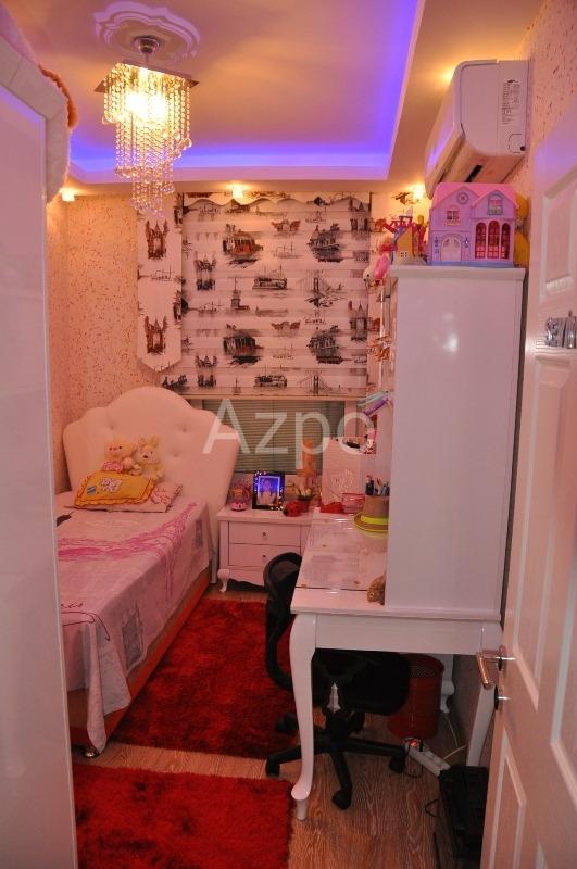 Трехкомнатная меблированная квартира в центре Аланьи - Фото 17