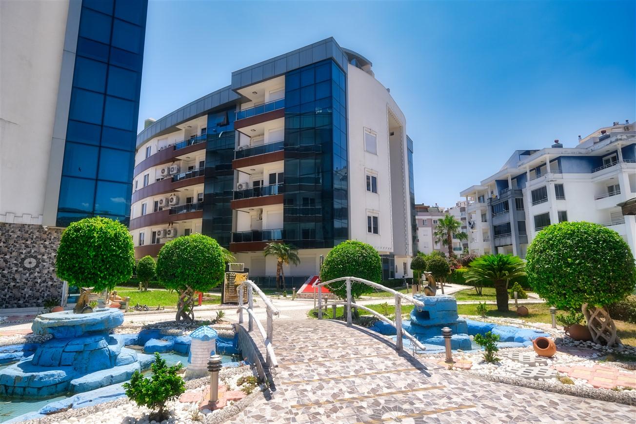 Двухкомнатная квартира с мебелью в элитном комплексе района Коньяалты - Фото 15
