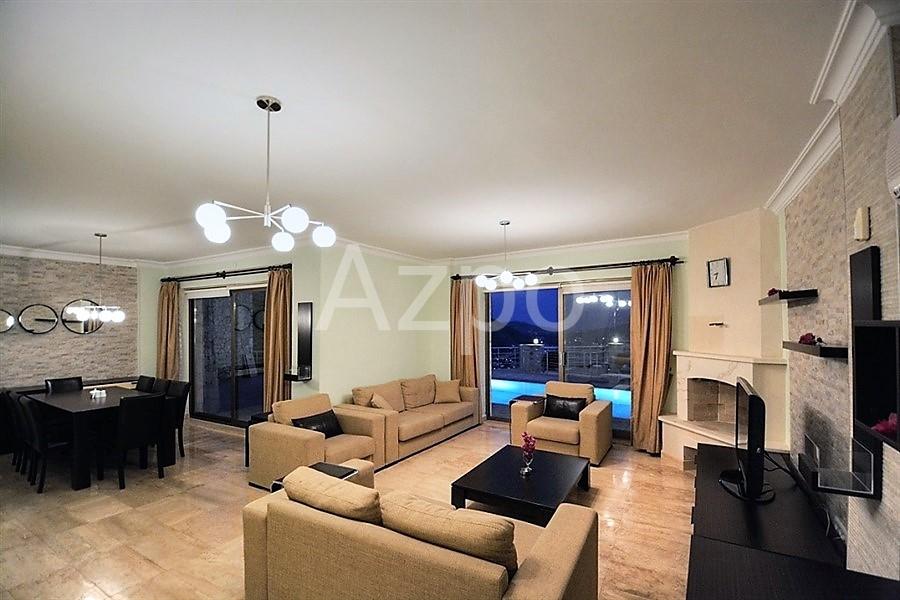 Двухэтажная частная вилла 4+2 с мебелью - Фото 9