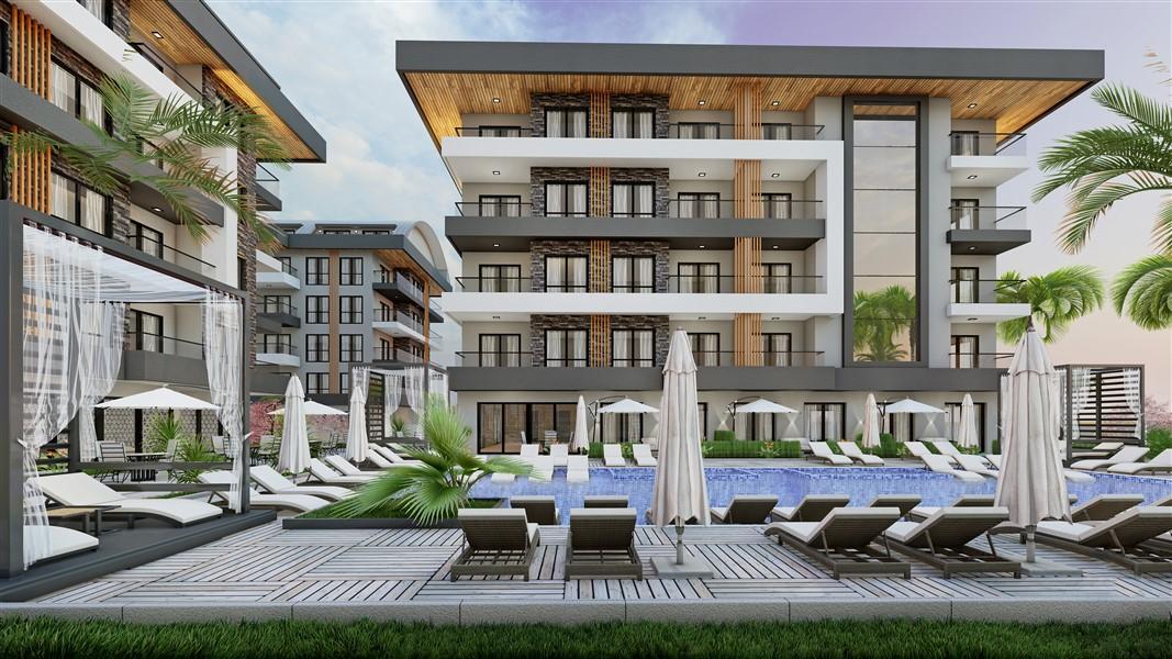 Новый проект жилого комплекса в районе Оба - Фото 12