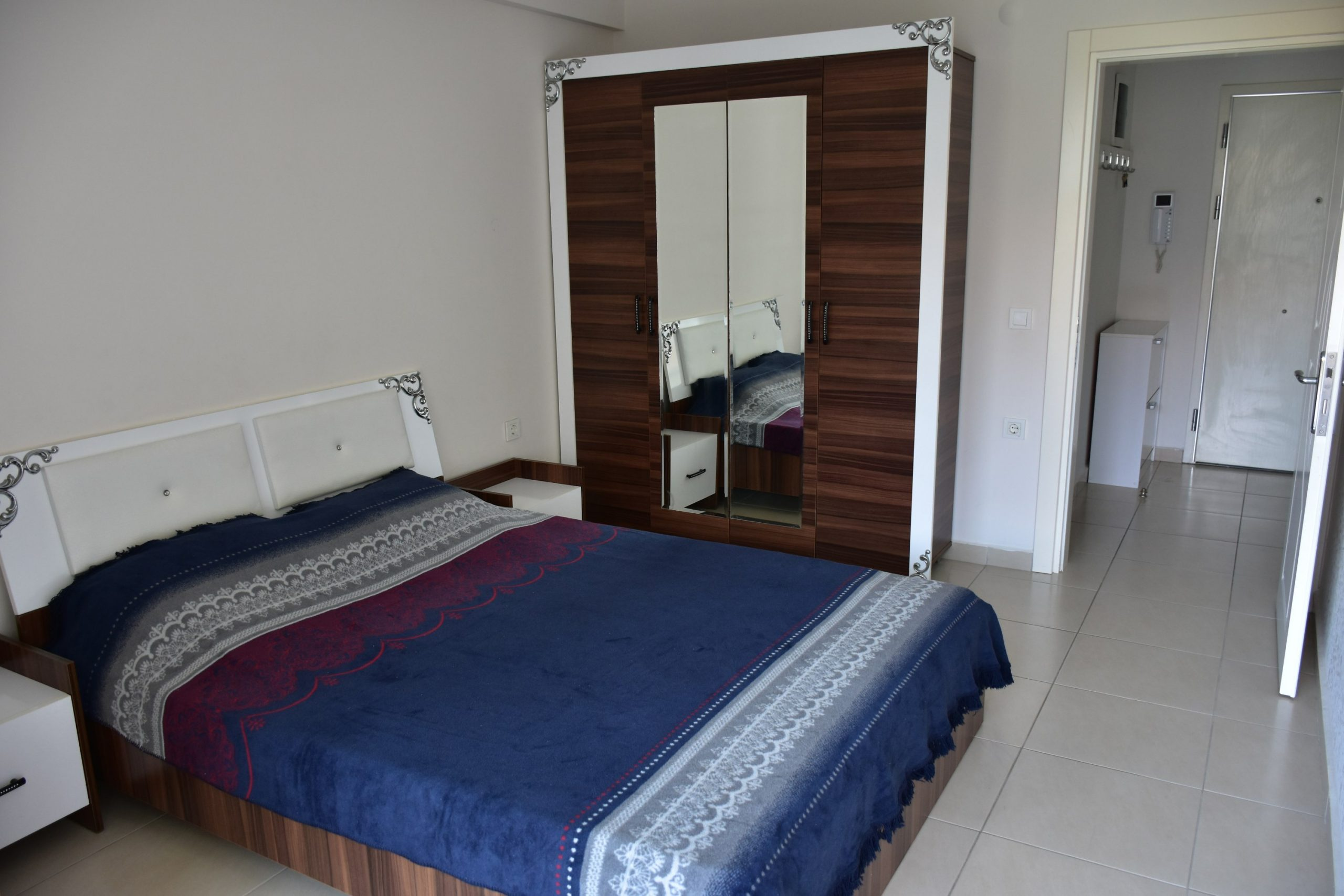 Двухкомнатная квартира с мебелью в посёлке Авсаллар - Фото 14