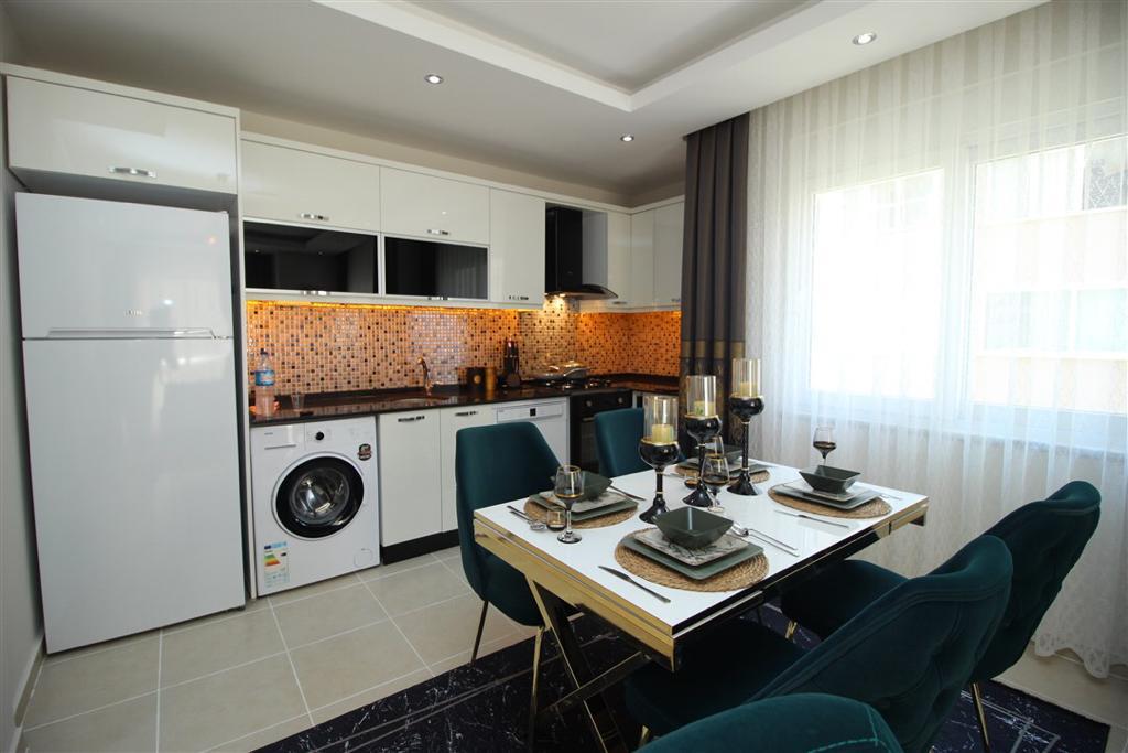 Двухкомнатная квартира с мебелью в Махмутларе - Фото 7