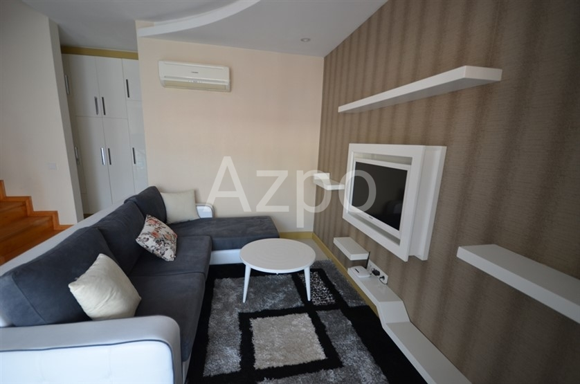 Квартира-дуплекс в благоустроенном комплексе в центре Аланьи - Фото 18
