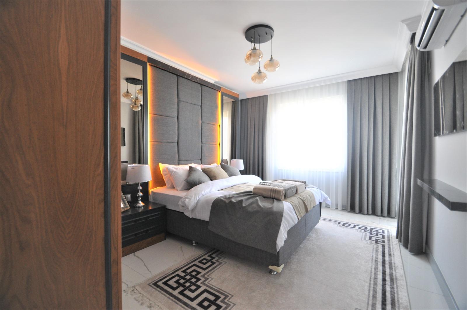 Просторная трёхкомнатная квартира с мебелью в Тосмуре - Фото 28