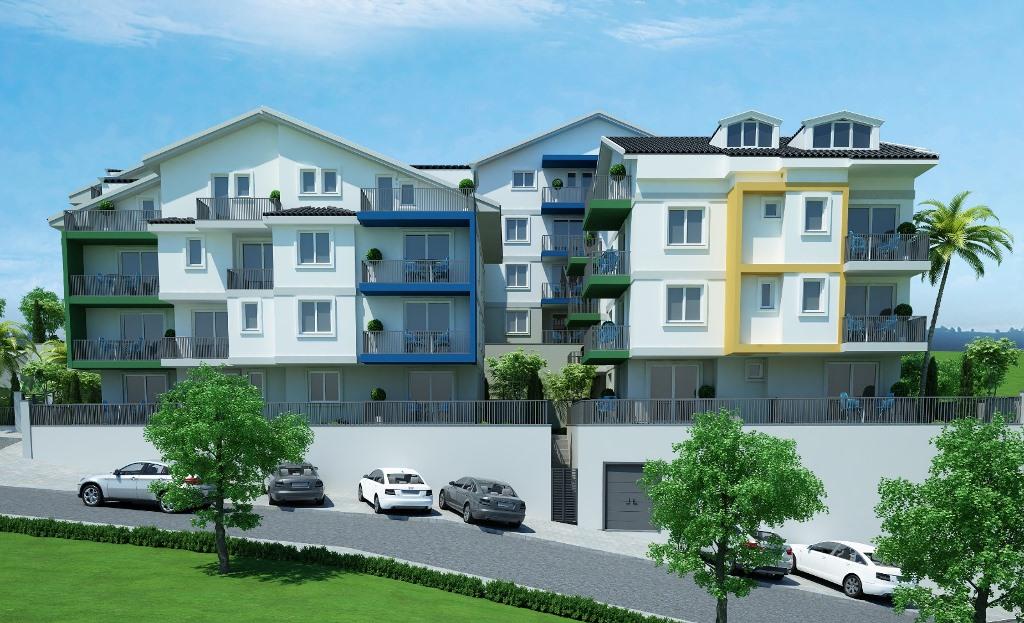 Двухкомнатные квартиры в строящемся комплексе Фетхие - Фото 11