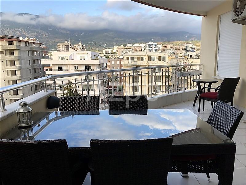 Трехкомнатная квартира с мебелью в  Махмутларе - Фото 22