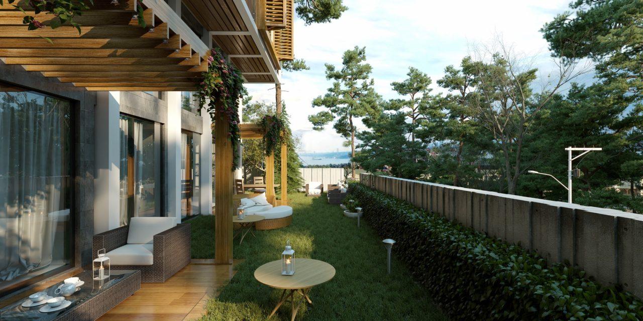 Новый комплекс с видом на пролив Босфор - Фото 9