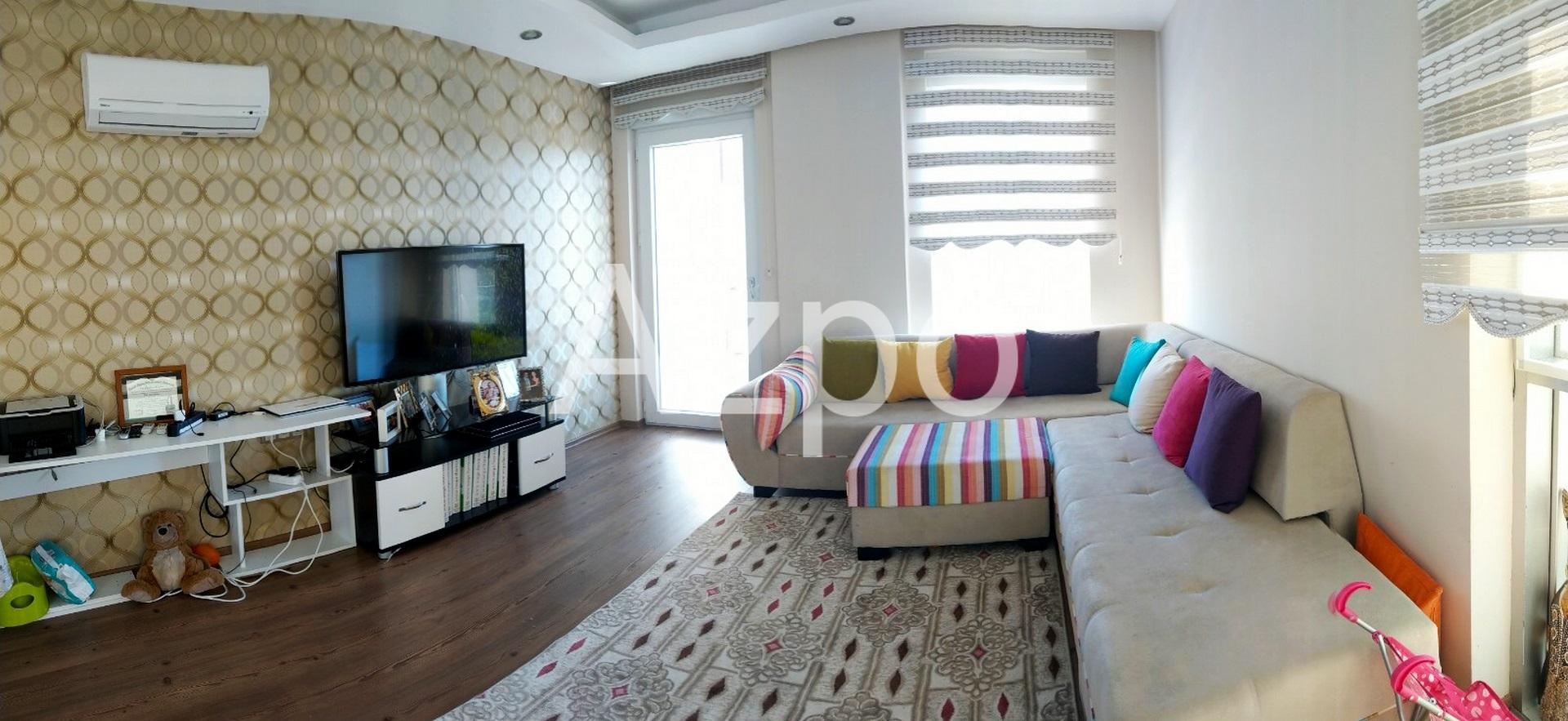 Квартира 2+1 с мебелью в 5 минутах ходьбы от моря - Фото 10