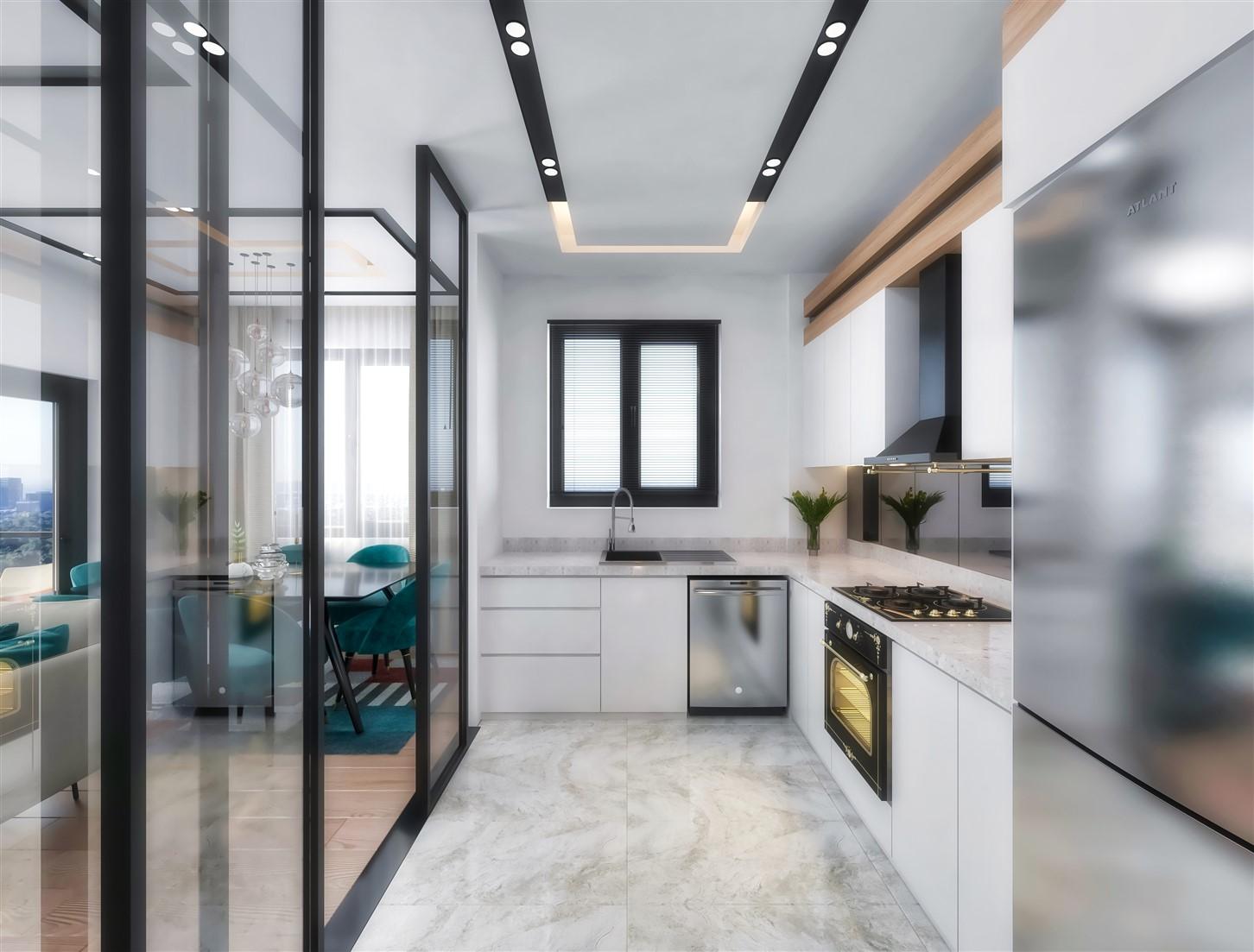 Современные квартиры в элитном комплексе Антальи - Фото 72