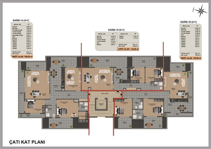 Квартиры в инвестиционном проекте район Оба - Фото 10
