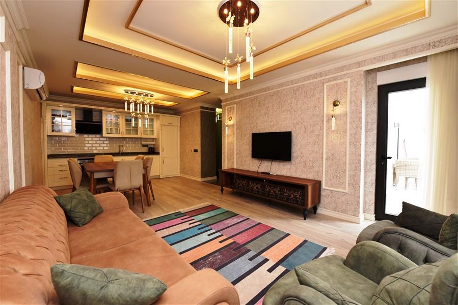 Меблированная квартира 2+1 в центре Аланьи - Фото 19