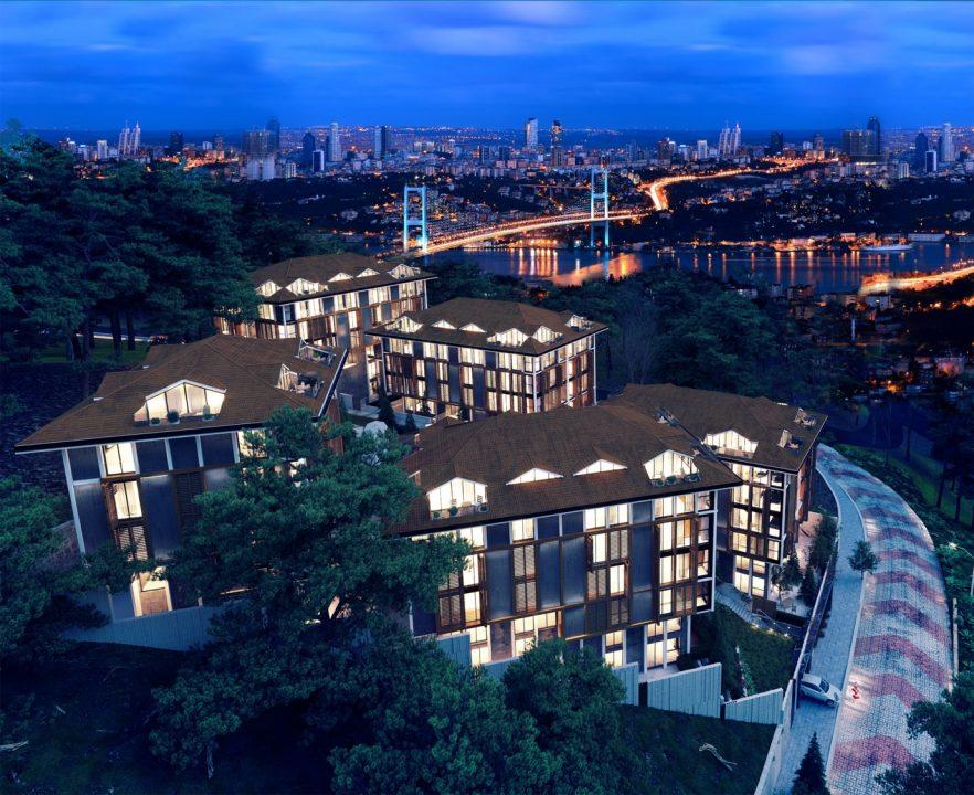 Новый комплекс с видом на пролив Босфор - Фото 10