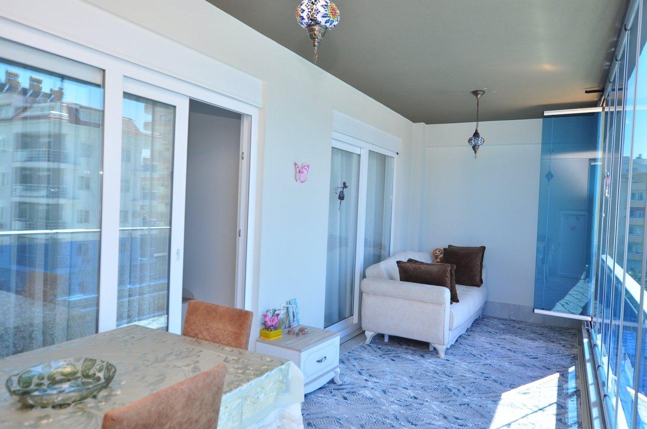 Двухкомнатная квартира с мебелью в Махмутларе - Фото 24