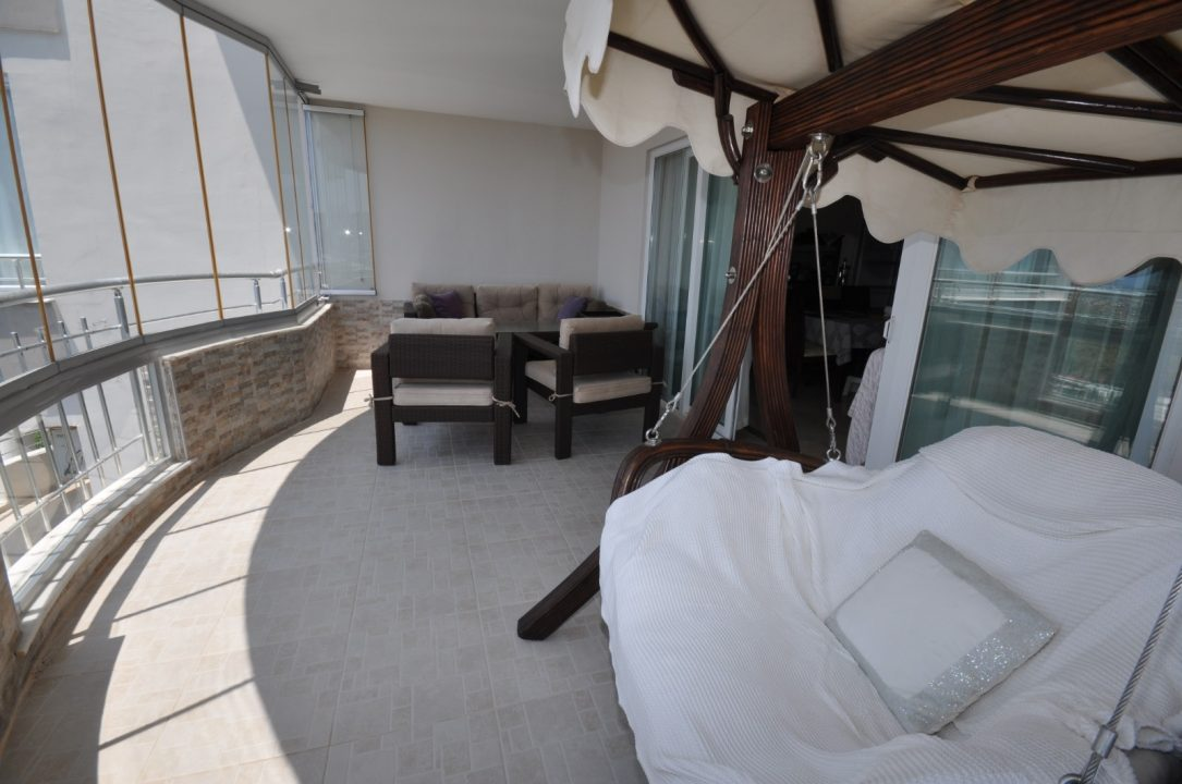 Меблированная квартира 2+1 с видом на море - Фото 23