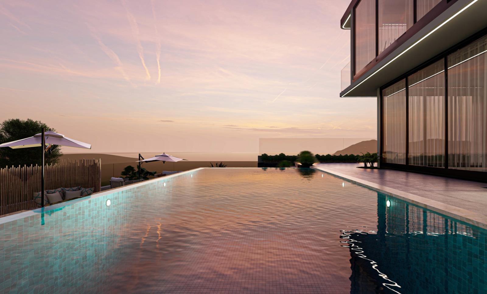 Дизайнерская вилла 5+1 с видом на Средиземное море - Фото 17