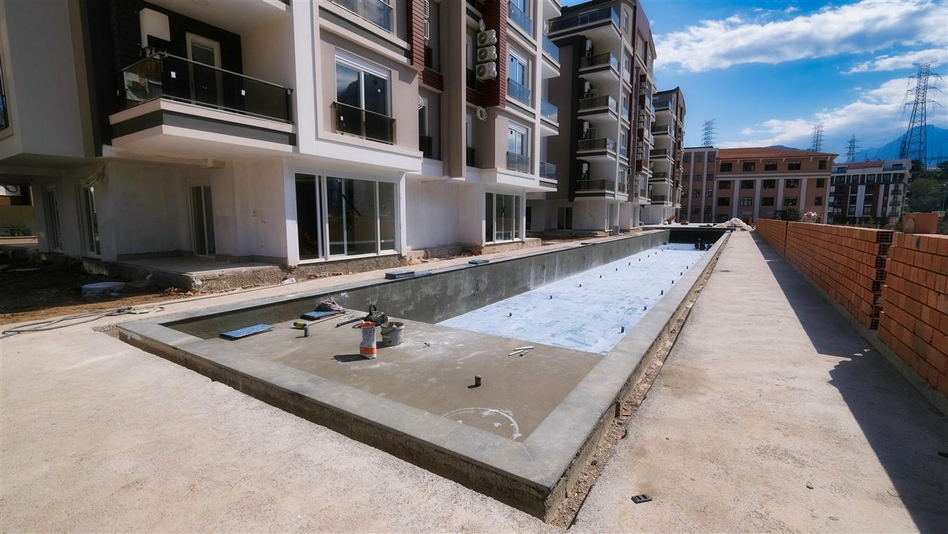 Новая двухкомнатная квартира в районе Коньяалты - Фото 5