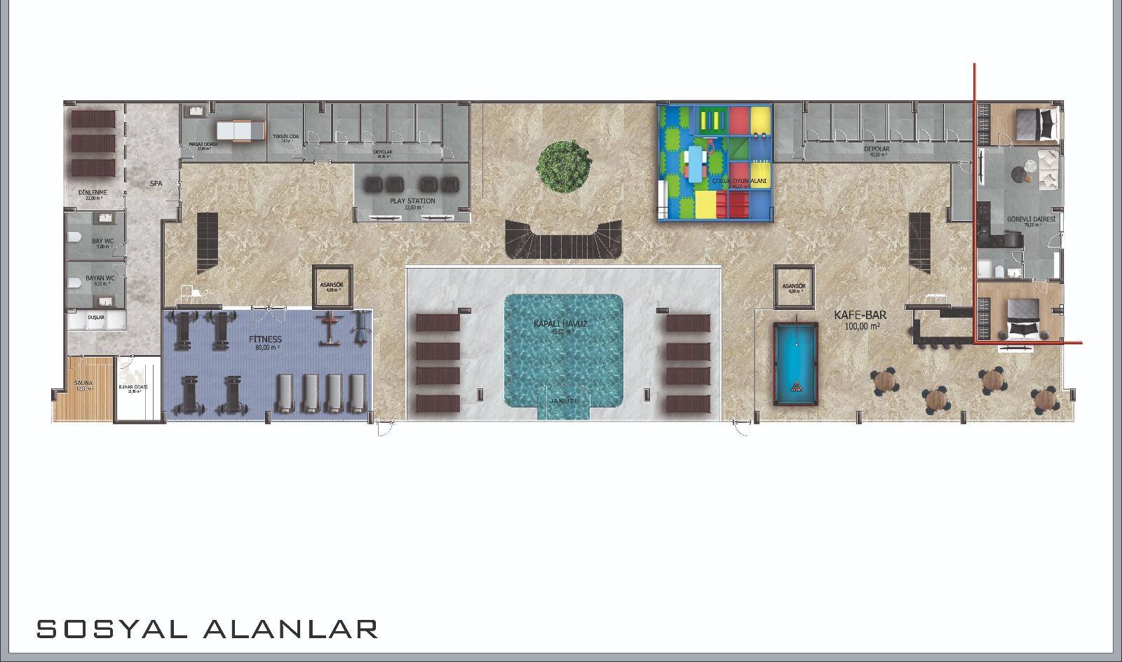 Новые квартиры в центре Аланьи - Фото 33