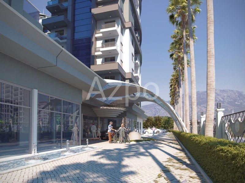 Новый строящийся проект люкс уровня в Махмутларе - Фото 12