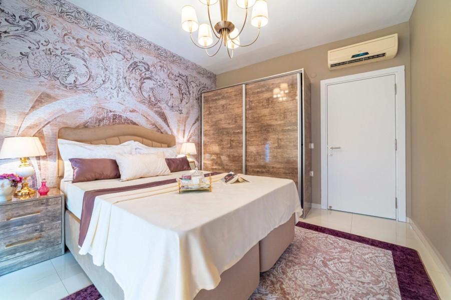 Уютная меблированная квартира 1+1 в роскошном жилом комплексе с инфраструктурой - Фото 31