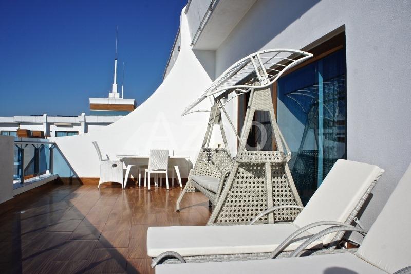 Роскошный пентхаус 3+1 с видом на Средиземное море - Фото 18