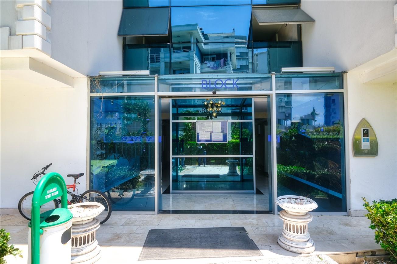 Двухкомнатная квартира с мебелью в элитном комплексе района Коньяалты - Фото 19
