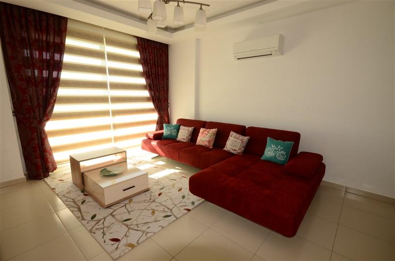 Трёхкомнатная квартира с мебелью в районе Тосмур - Фото 13