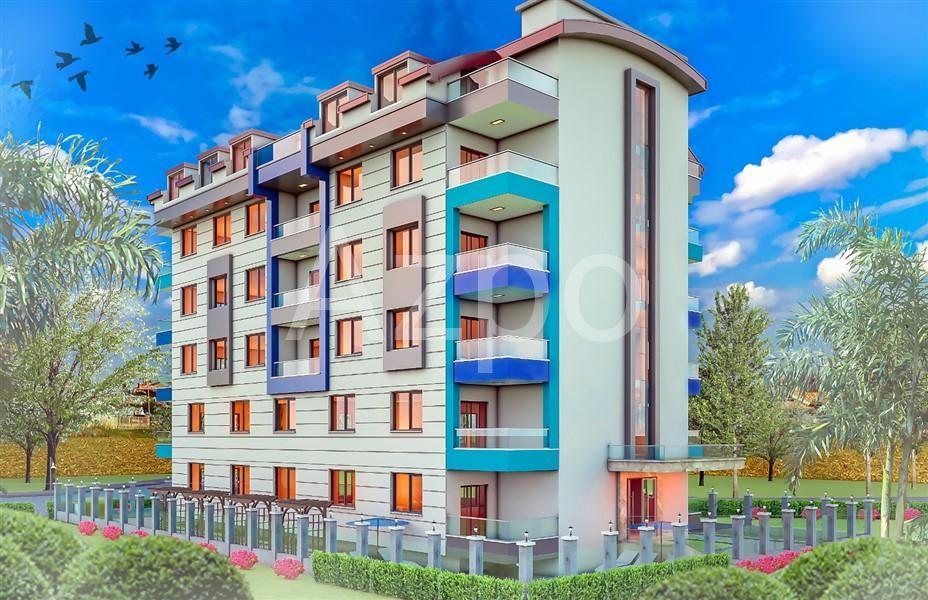 Новый строящийся проект в районе Махмутлар - Фото 4