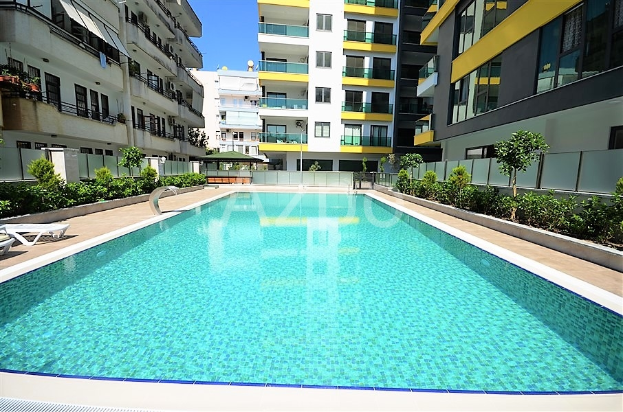 Меблированная квартира 1+1 в центре Алании - Фото 4