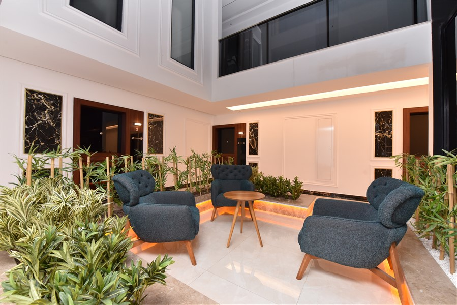 Роскошная меблированная квартира 3+1 в центральном районе Аланьи - Фото 2