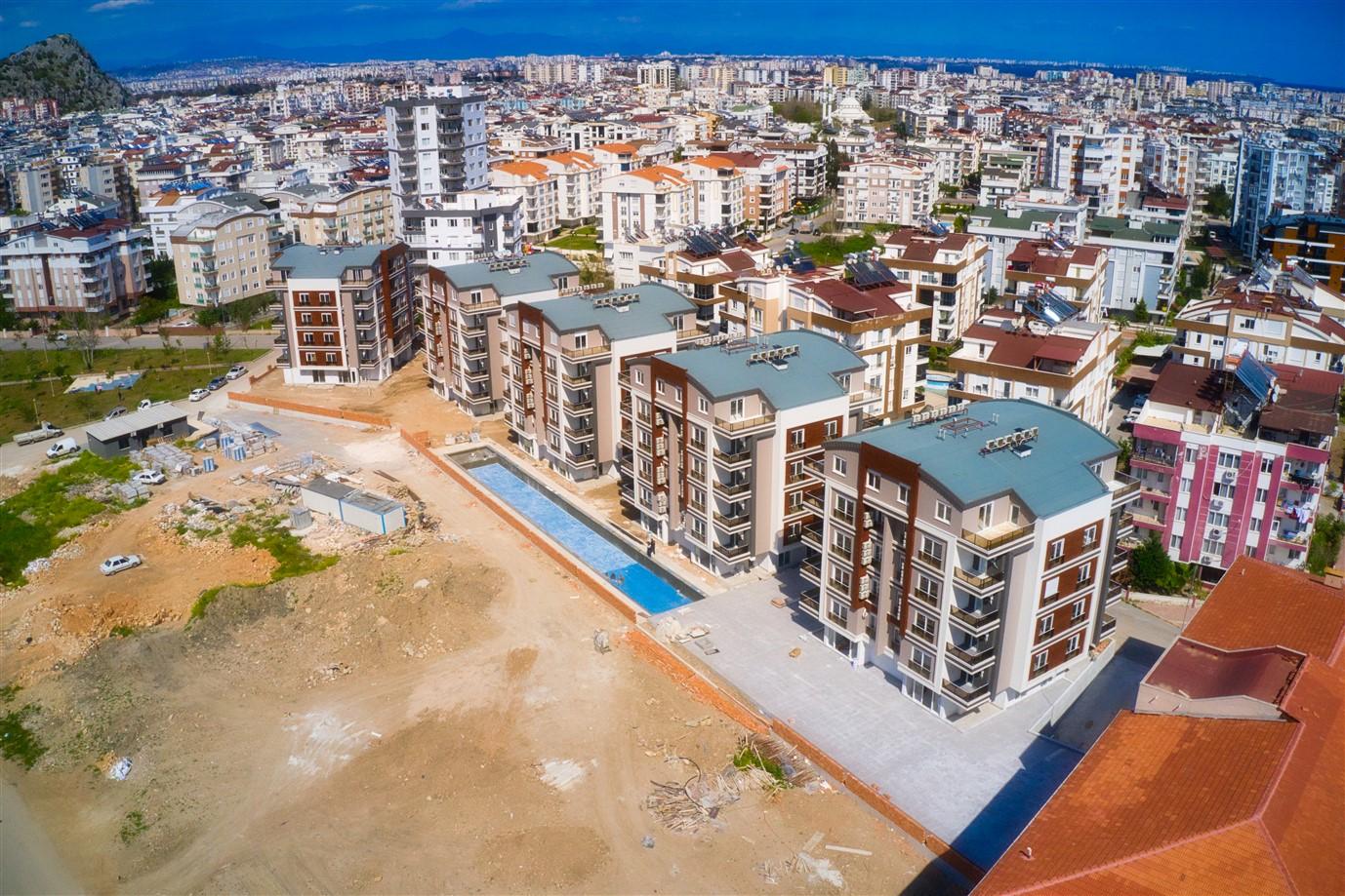 Новая двухкомнатная квартира в районе Коньяалты - Фото 2