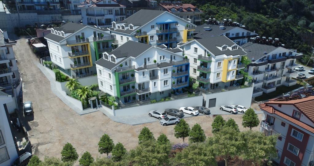 Двухкомнатные квартиры в строящемся комплексе Фетхие - Фото 15