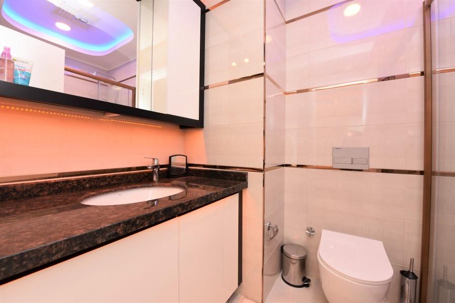 Трёхкомнатная квартира с мебелью в районе Махмутлар - Фото 26