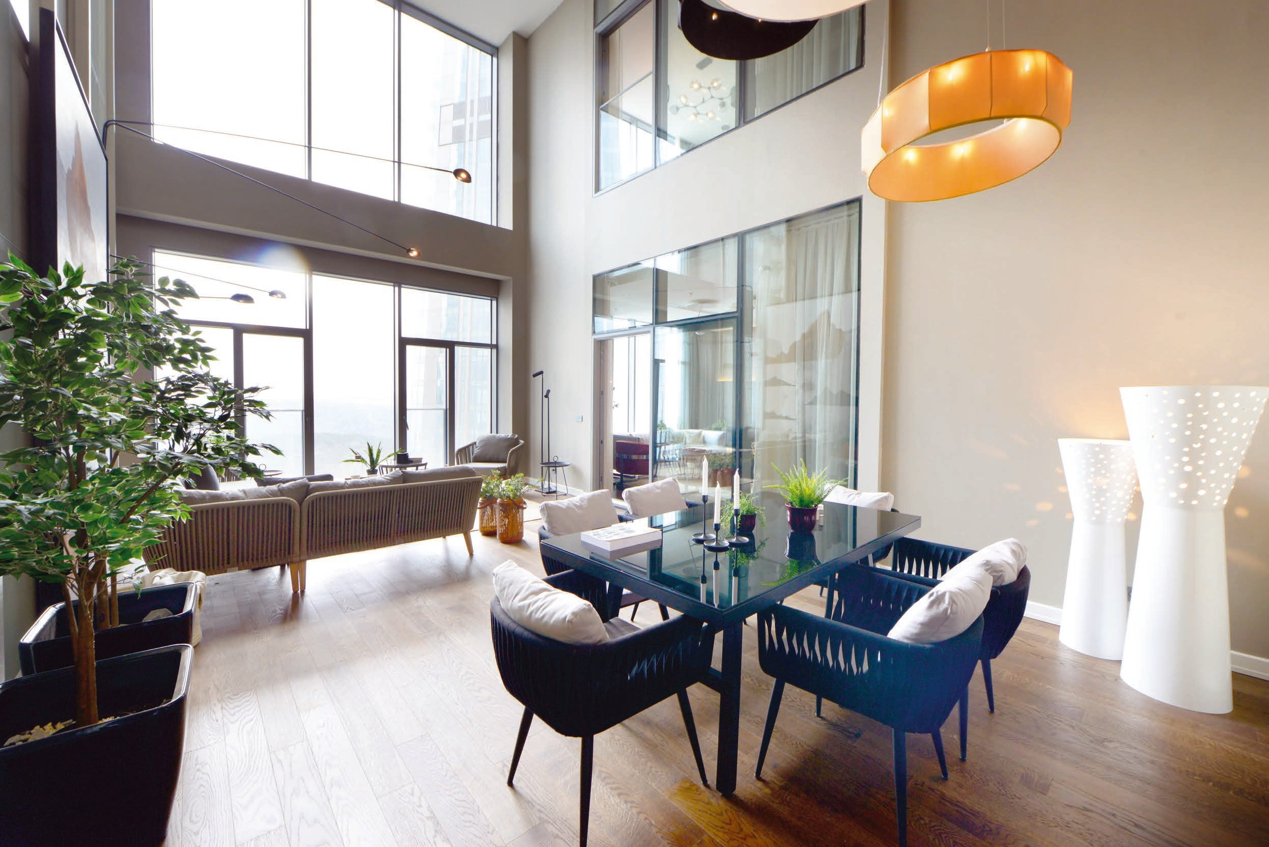 Готовые квартиры в рассрочку в районе Сарыер Стамбул - Фото 8