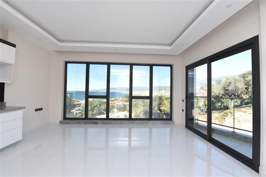 Квартира 2+1 с видом на Средиземное море в Каргыджаке - Фото 8