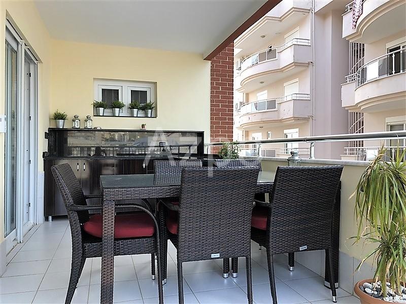 Трехкомнатная квартира с мебелью в  Махмутларе - Фото 20