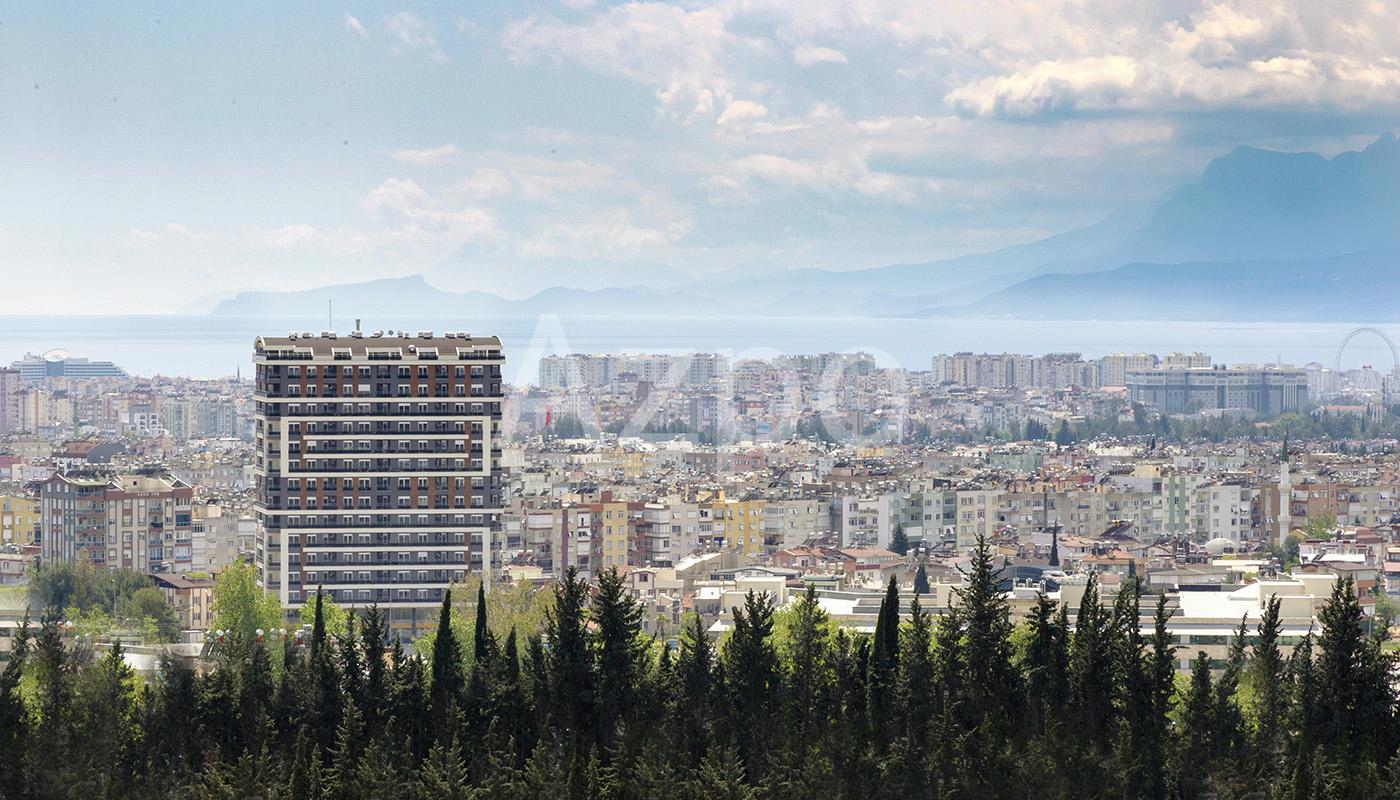 Новый проект в районе Кепез Анталии - Фото 13