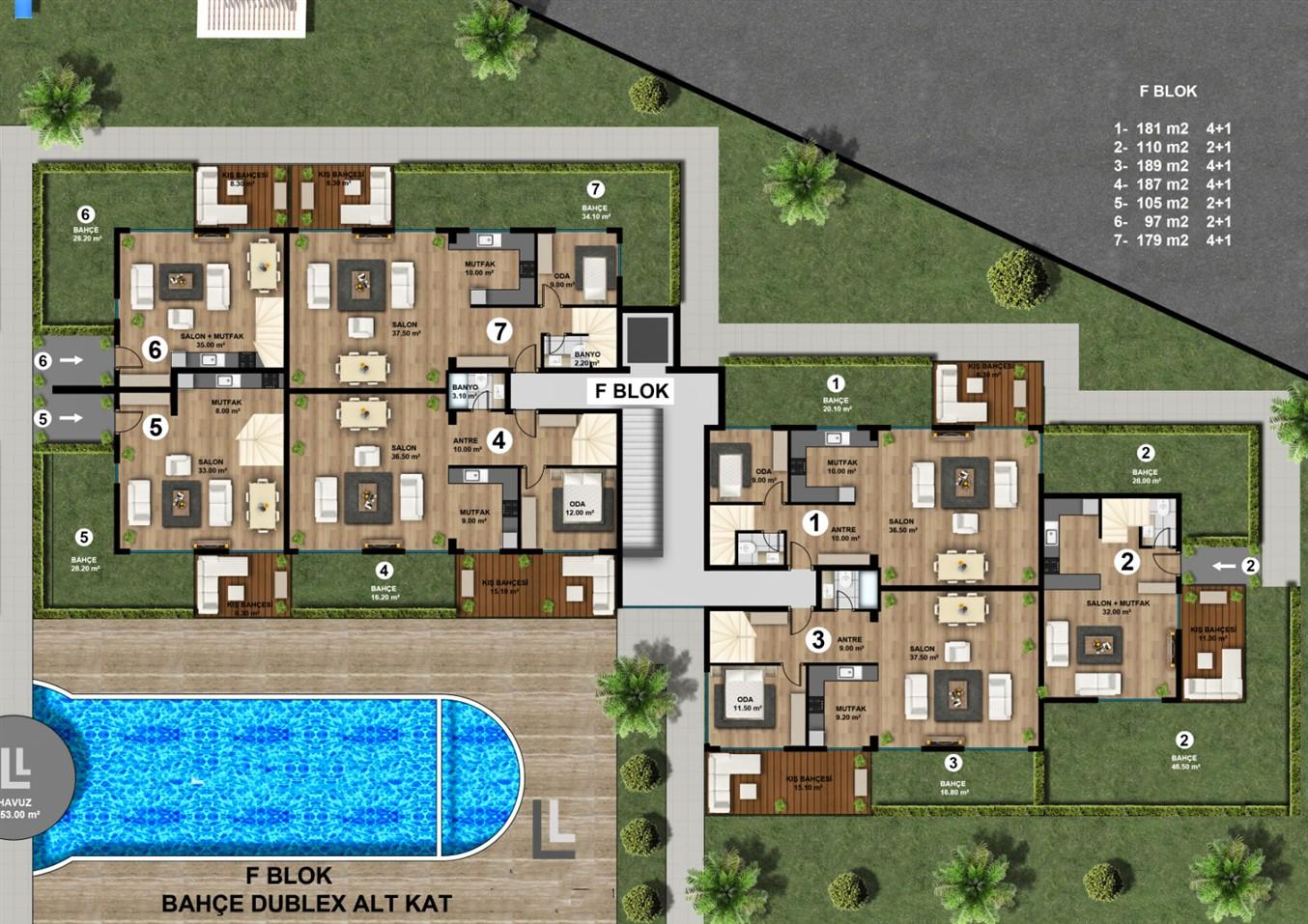 Роскошные квартиры в новом жилом комплексе с инфраструктурой - Фото 16