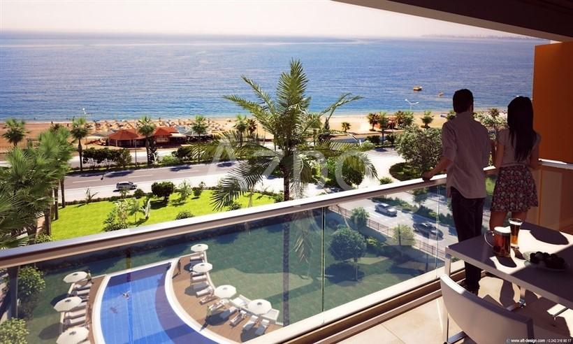 Квартиры с видом на море в элитном комплексе Антальи - Фото 6