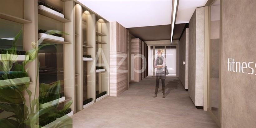 Квартиры с видом на море в элитном комплексе Антальи - Фото 8