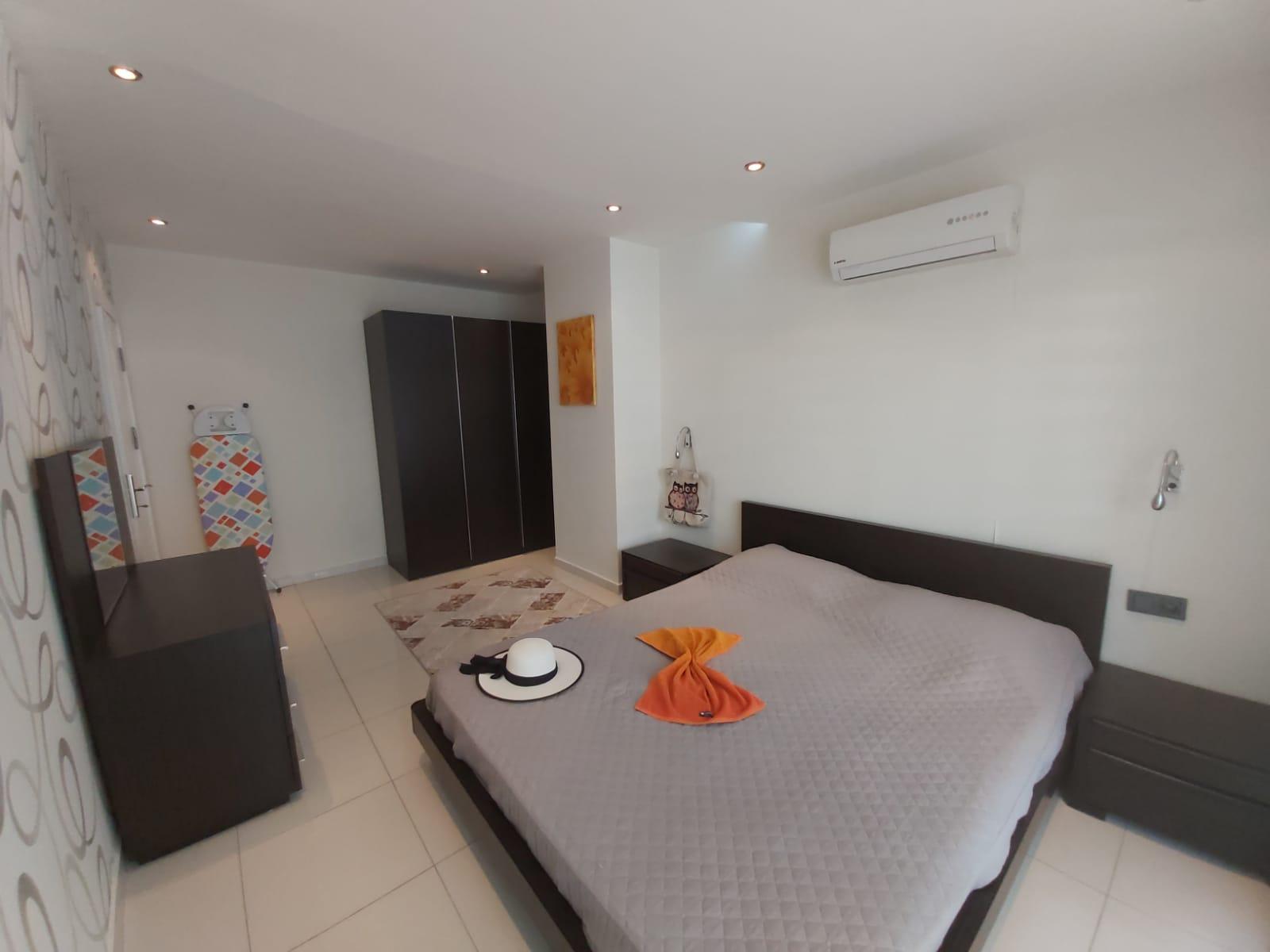 Двухкомнатная квартира с мебелью в районе пляжа Клеопатры - Фото 8
