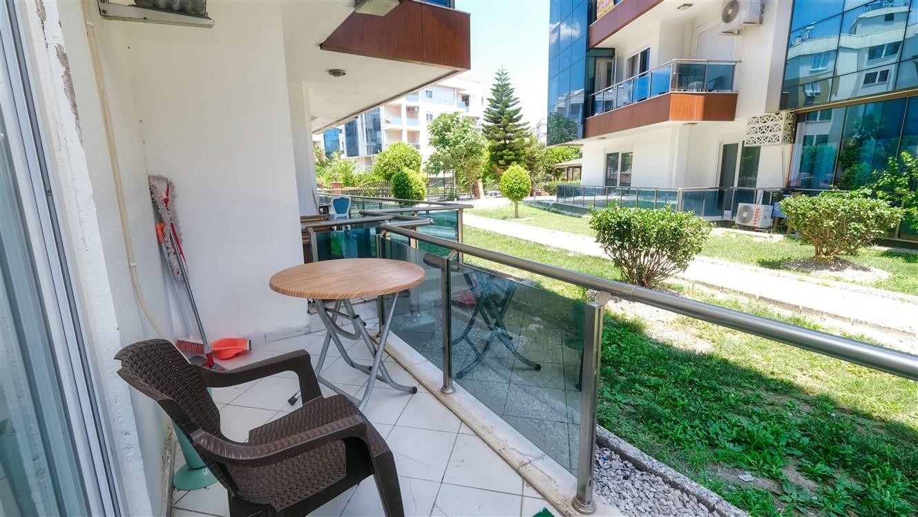 Двухкомнатная квартира с мебелью в элитном комплексе района Коньяалты - Фото 34