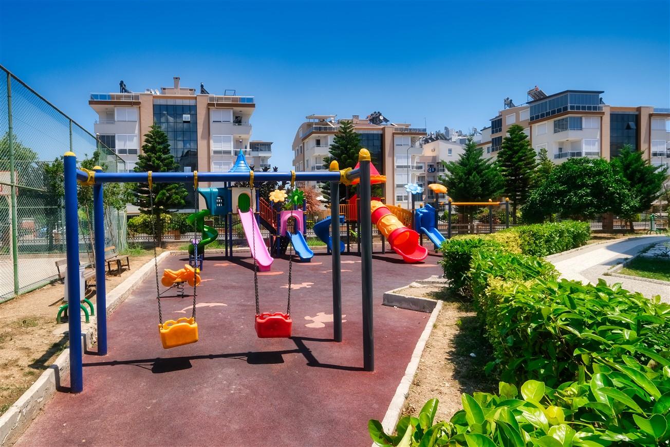 Двухкомнатная квартира с мебелью в элитном комплексе района Коньяалты - Фото 24