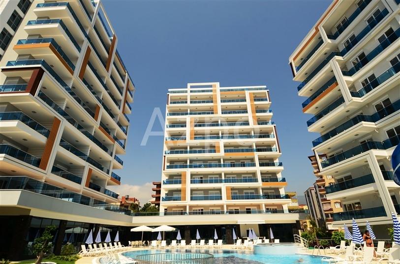 Апартаменты 1+1 в современном комплексе