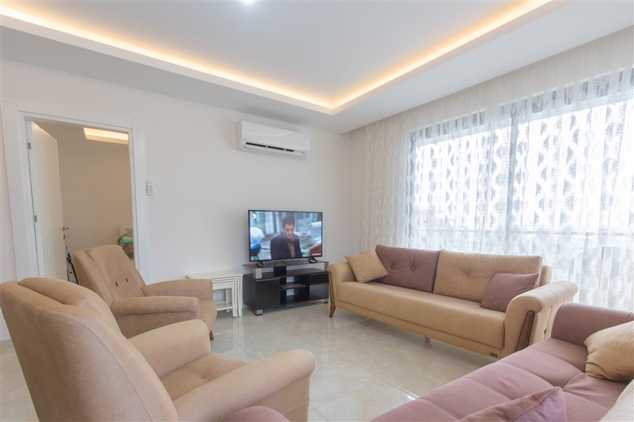 Меблированная квартира 1+1 в районе Махмутлар - Фото 15