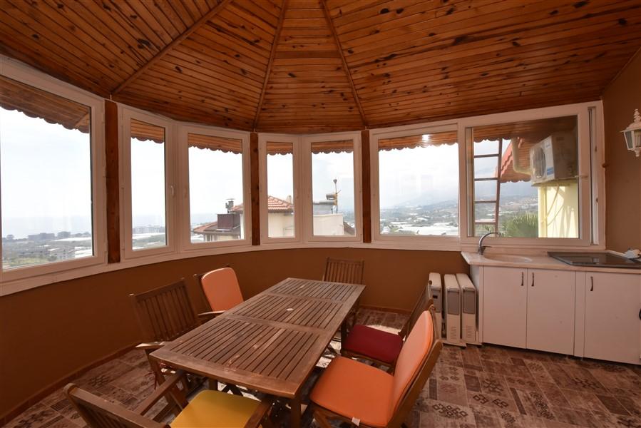 Меблированная вилла планировки 3+2 в районе Каргыджак - Фото 41