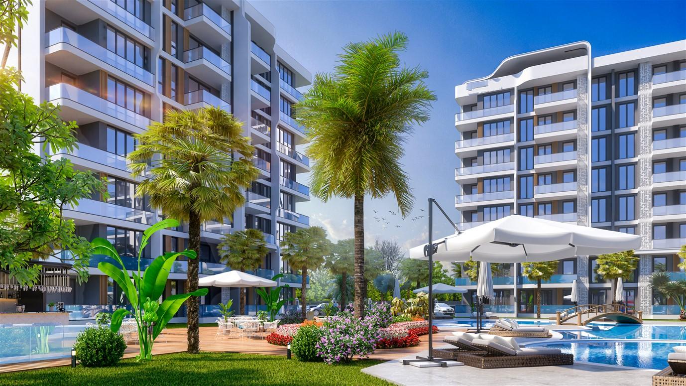 Современные квартиры в элитном комплексе Антальи - Фото 13