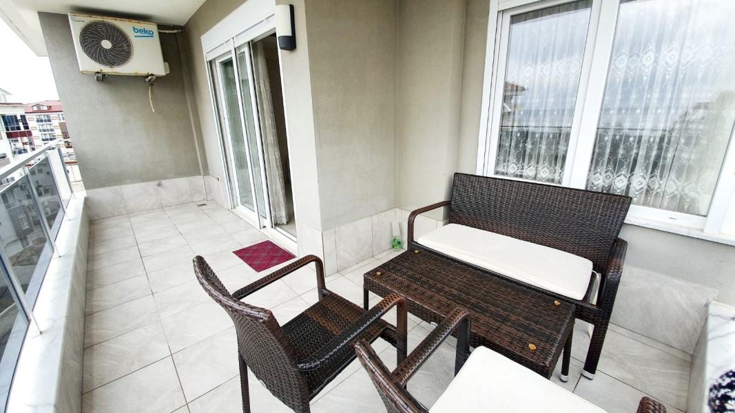 Двухуровневый пентхаус 2+1 с мебелью в районе Кестель - Фото 23